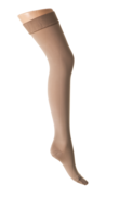 AGH - Lårhög strumpa med silikontopp ccl 1