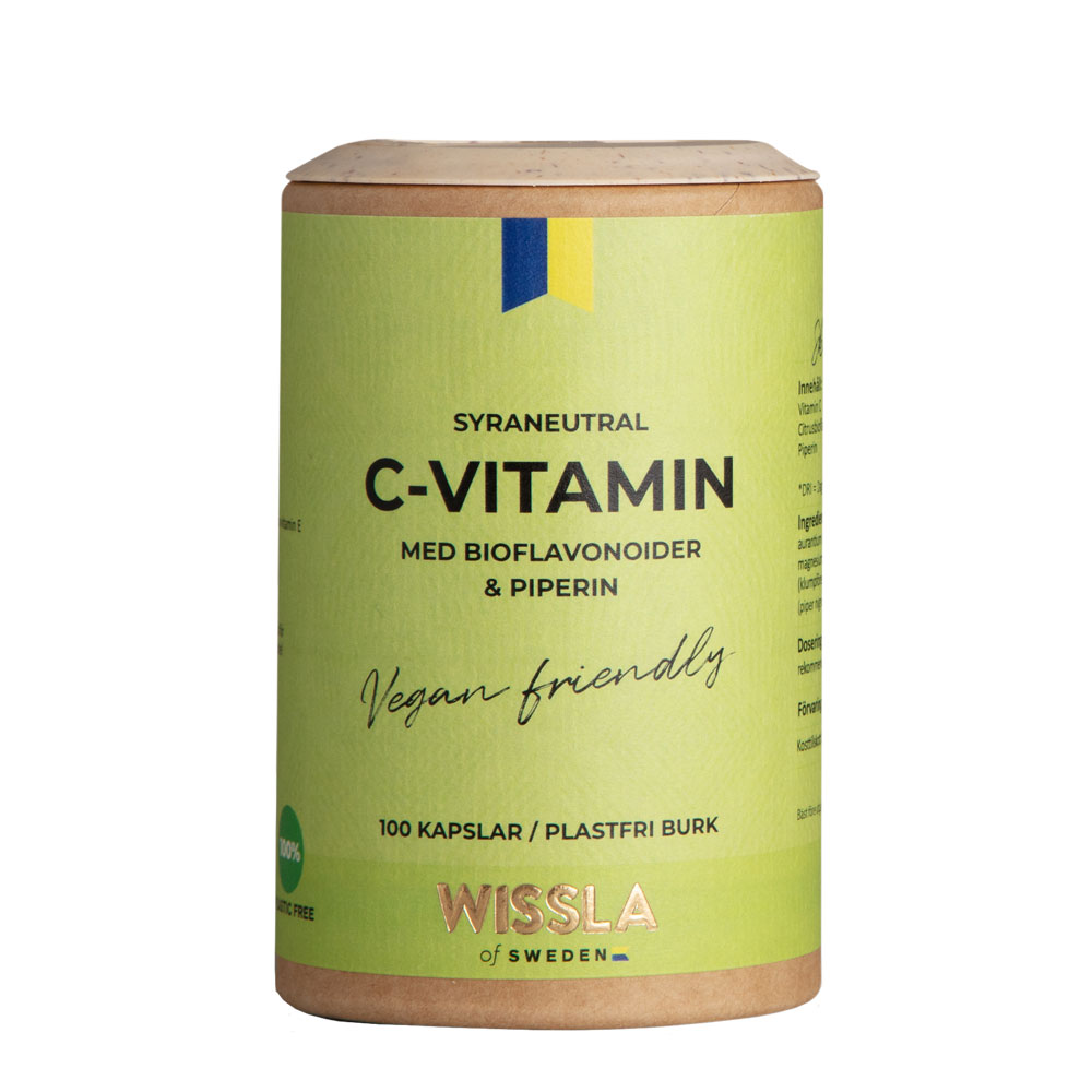 C-vitamin med Bioflavonoider från Wissla of Sweden