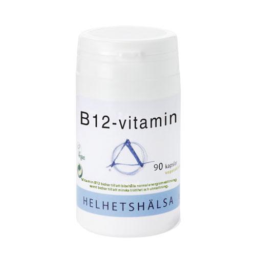 B12 vitamin, 90 kapslar