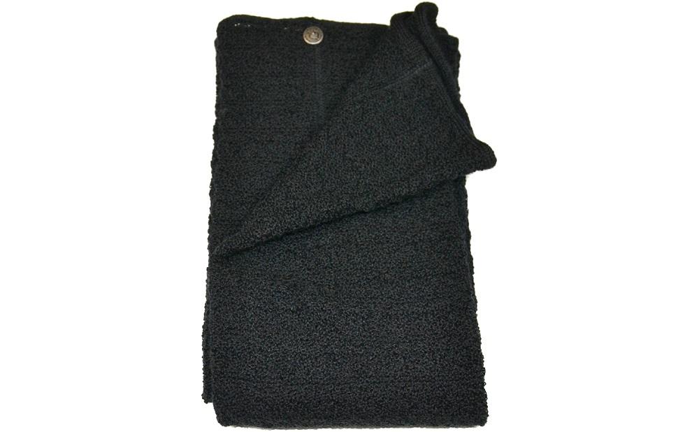 Benvärmare ull, svarta
