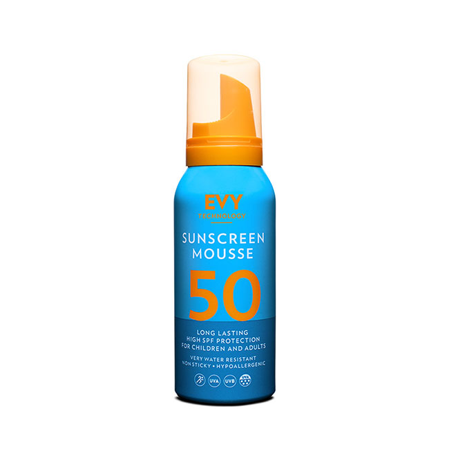 EVY - Sunscreen Mousse SPF 50 100ml
